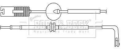 Brake Pad Wear Indicator Sensor fits ROVER 75 RJ Front 2.0 2.0D 99 to 05 B/&B New