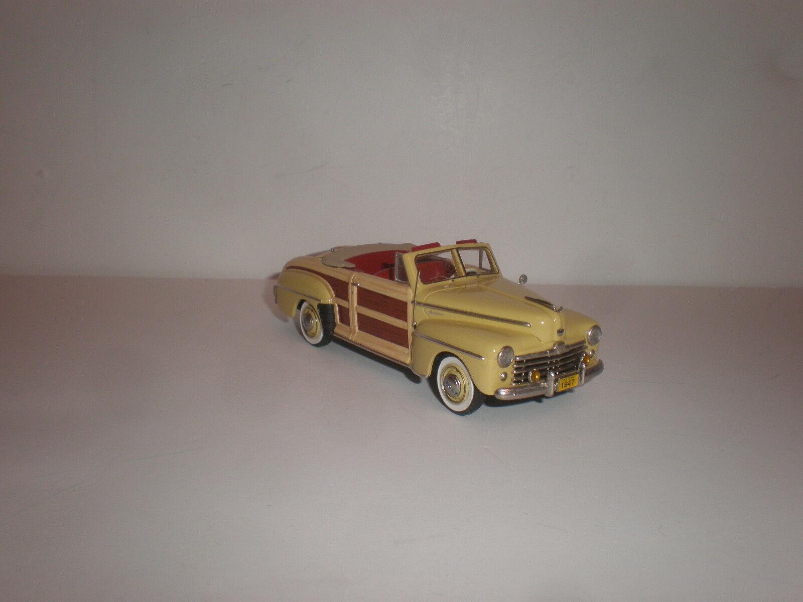 presentando toda la última moda de la calle 1 43 1947 Ford deportista Converdeible TD MC-56 Motor City City City USA  venta