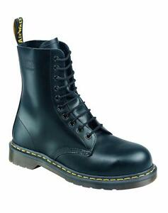 db54e24679d Details about Dr Martens Doc 10-hole 1919 Steel Toe Cap Fine Haircell the  Original