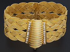 Trabzon Bilezik Altin Bileklik Gold 22 Karat Ayar Altin Kaplama Gelin Taki Henna