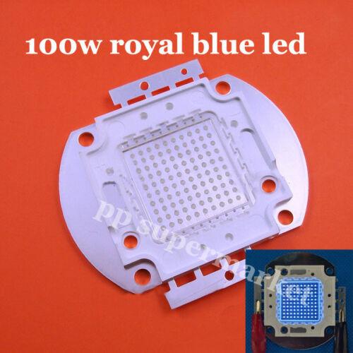 100W royal blue High Power LED beads Light Lamp Chip 445-450NM 45mil