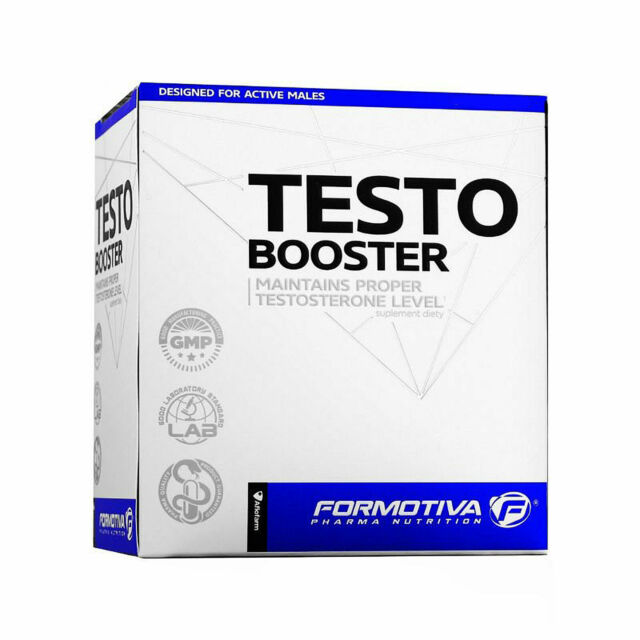 FORMOTIVA TESTO BOOSTER - Maintains Proper Testosterone Level - Sexual Activity for sale