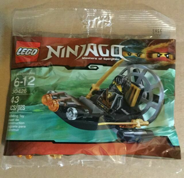 Lego Ninjago 30426 Masters Of Spinjitzu Cole/'s Stealthy Swamp Airboat Polybag
