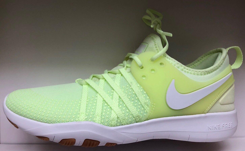 NIKE FREE TR 7 Training Shoe 904651-700 Volt White Size UK 4.5 EU 38 US 7 New