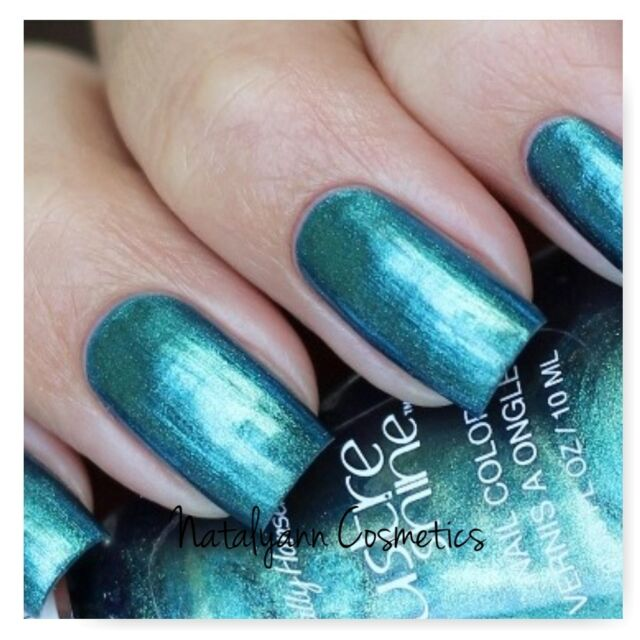Sally Hansen Lustre Shine Nail Color Scarab 10ml | eBay