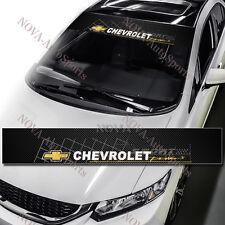 Chevrolet Chevy Car Window Windshield Carbon Fiber Vinyl Banner Decal Sticker