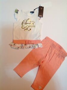 guess-baby-girls-dress-top-with-leggings-cream-top-with-printed-frill-6-9-m