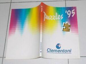 Catalogo-CLEMENTONI-PUZZLES-95-COLLEZIONE-1995-Puzzle-Walt-Disney-Barbie