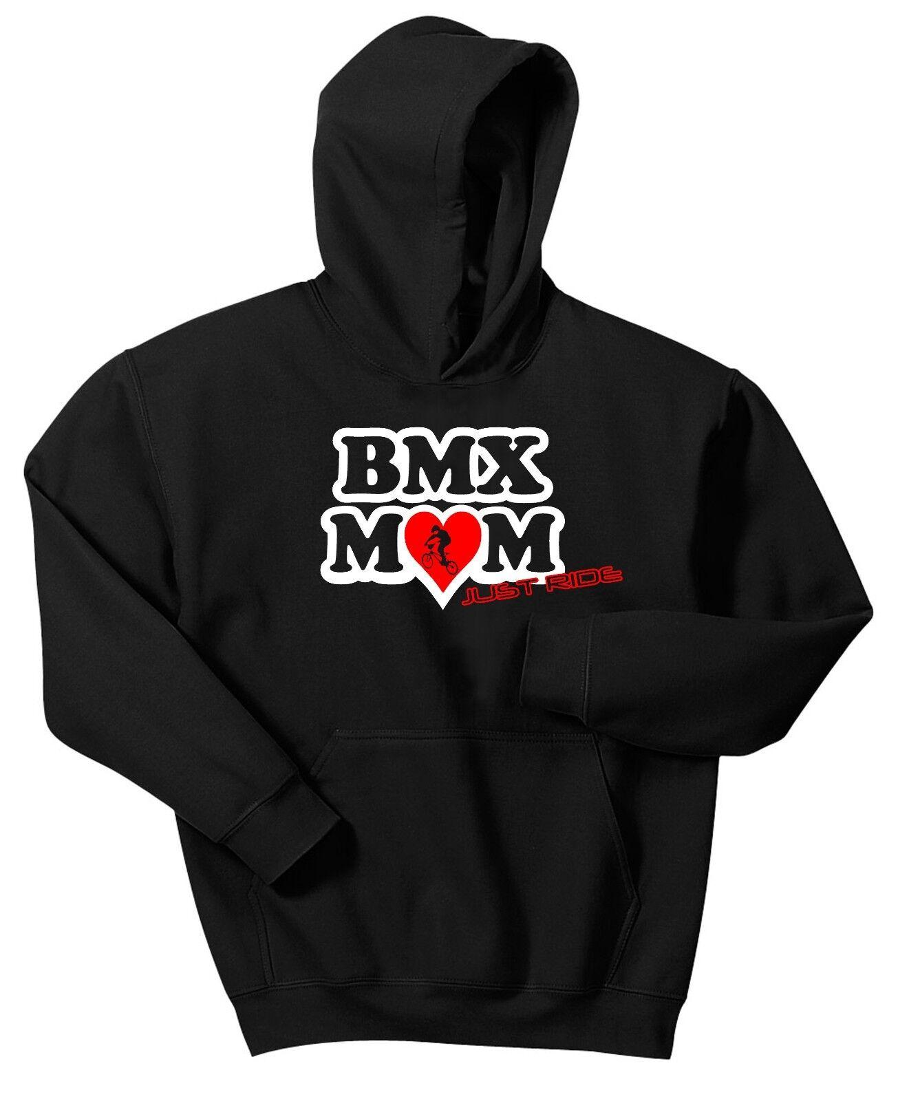 Bmx Mama Kapuzenpulli Sweatshirt Just Ride Pulli Rad Fahrrad Rennen Kink Mum