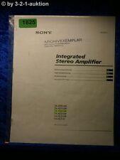 Sony Bedienungsanleitung TA FE910R /FE710R /FE610R /FE210 Amplifier (#1825)