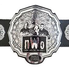 nWo New World Order Championship Replica Title Belt - Zinc Metal Plates