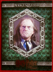 HARRY POTTER ORDER OF THE PHOENIX Card #016 - ARGUS FILCH - Artbox 2007