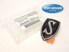 "JDM Nissan Silvia 240SX 1995-1998 S14 Black Hood ""S"" Emblem Badge Genuine OEM"