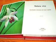 natura viva enciclopedia sistematica del regno vegetale 1966 3 volumi completa