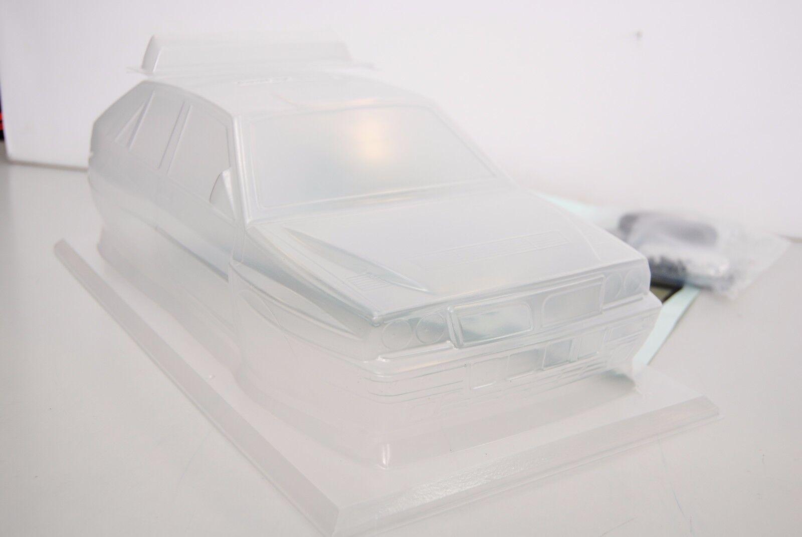 THE RALLY LEGENDS Bodywork Transparent LANCIA Delta EVO + Adhesives SPEAR