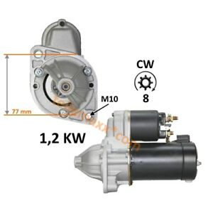 Anlasser-Starter-Motor-Yanmar-3JH4-E-1640ccm-29-4KW-Sonderversion-1-2KW-8T