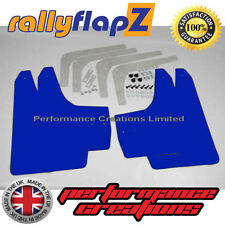 rallyflapZ HONDA CIVIC TYPE R FN2 (2007-2010) Mud Flaps Mudflaps Blue 3mm PVC