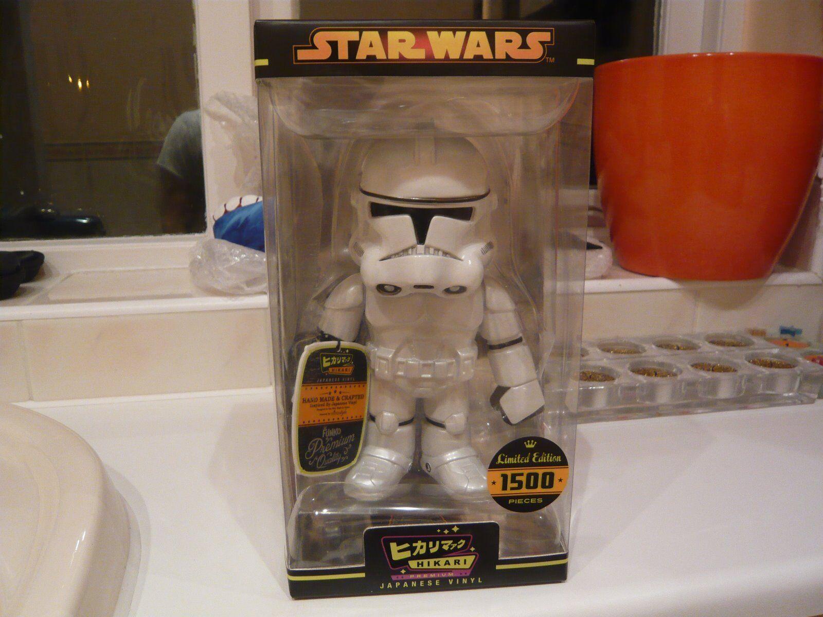 Diverdeimentoko Hikari CLONE di estrella guerras Storm  Trooper LIMITED edizione  protezione post-vendita