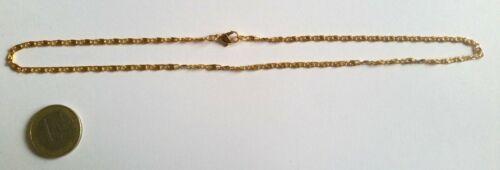 Lot de 10 Chaînes couleur doré de 44 cm d