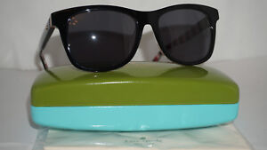be02d40df3 Kate Spade Sunglasses New Black Red Pattern Black CHARMINE S 807M9 ...