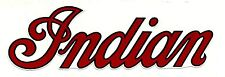 INDIAN MOTORCYCLE FUEL TANK VINYL STICKER DECAL CHIEF SCOUT BIKER ariel bsa hog