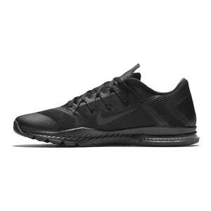 13657310ab3b Nike Zoom Train Complete Triple Black Men Cross Training Shoe ...