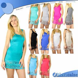 Mini Abito Canotta Top Donna Sexy Vestitino Elasticizzato Jersey Estate Deabi001