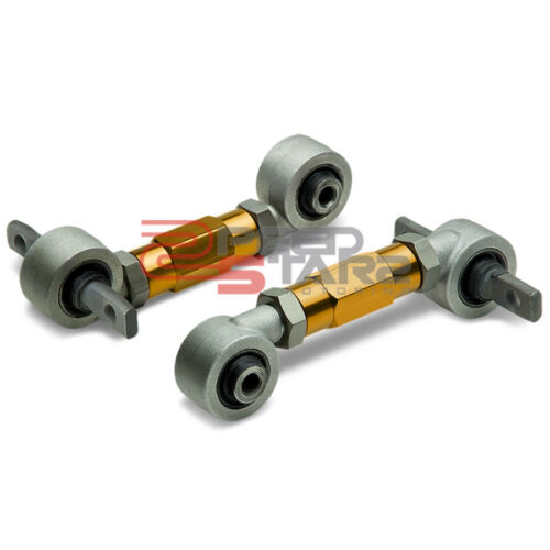 FOR EG//EH//EJ//DC2 GOLD REAR SUSPENSION ADJUSTABLE RACING CAMBER CONTROL TOE ARM