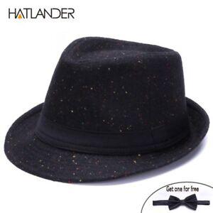 451285c6c83067 Retro Gentleman panama fedora hat mens Jazz billycock cap outdoor | eBay