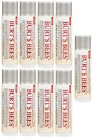 9 Pack Burt's Bees Ultra Conditioning Lip Balm With Kokum Butter 0.15 Oz Each on sale