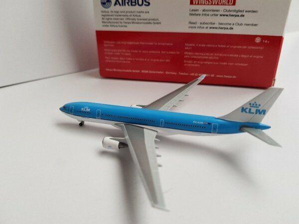 1 500 Herpa KLM Airbus A330-200 PH-AOM Piazza San Marco Marco Marco Venezia 530552 f67c69