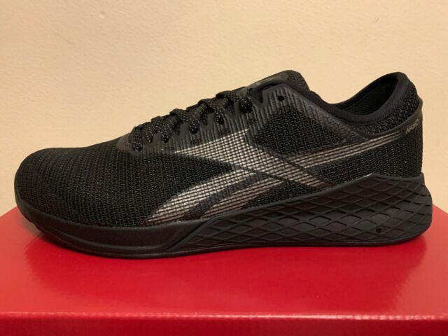 Reebok Men S Crossfit Nano Pump Fusion Training Shoes Black Blue Off 72 Buy