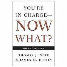 You're in Charge, Now What? : The 8 Point Plan by James M. Citrin and Thomas J. Neff (2007, Paperback)