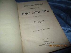 Antik-Buch-1877-Woerterbuch-zu-den-Schriftwerken-des-Cajus-Julius-Caesar