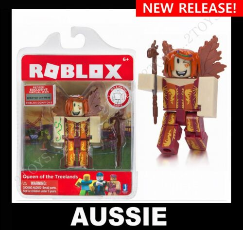 ROBLOX Action Figure ~ QUEEN OF THE TREELANDS + Virtual Code ~ Series 2 NEW