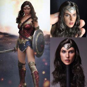 1 6 Scale Wonder Woman Gal Gadot Head Sculpt For Phicen Female