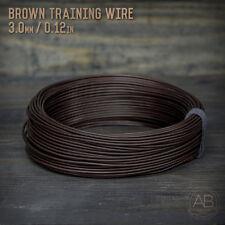 American Bonsai Brown Aluminum Training Wire - 3.0mm - 1 kilogram - 175ft - 1k
