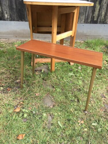 vintage coffee table with dansette legs, mid century modern Teak