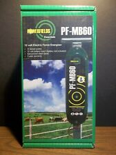 Powerfields Essentials Pf Mb60 12 Volt Fence Charger Nib 6 Joules 30 Acres