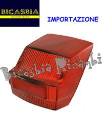 7400 - IMPORTAZIONE GEMMA FANALE FARO POSTERIORE VESPA 125 150 200 PX PRIMA SERI