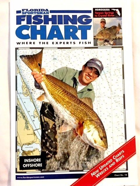 Florida Sportsman Fishing Chart Homosassa C18hom
