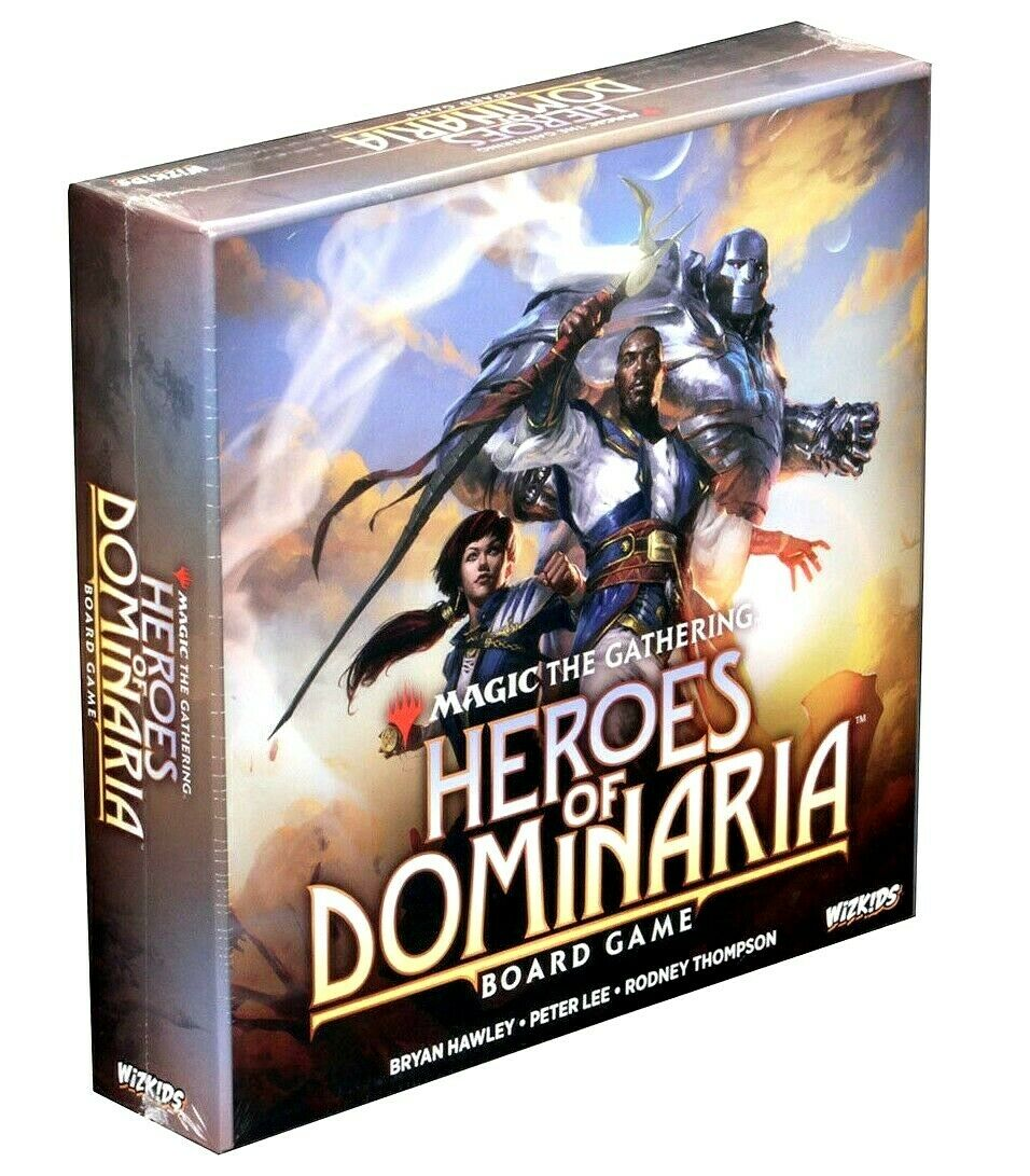 MAGIC THE GATHERING HEROES OF DOMINARIA BOARD GAME WIZKIDS
