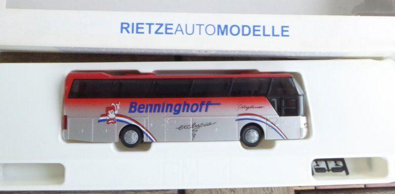 Rietze 65006 H0 NEOPLAN n1116 Cityliner Bus benninghoff wiehl en emb.orig.