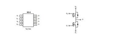 25 x BP2876D SOP-7 LED constant current driver chip