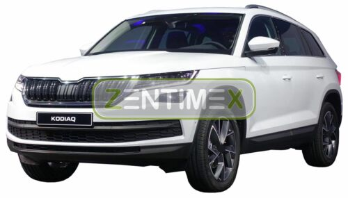 Z330766 SET Kofferraumwanne Gummifußmatten für Skoda Kodiaq 2WD Vorderradantrieb
