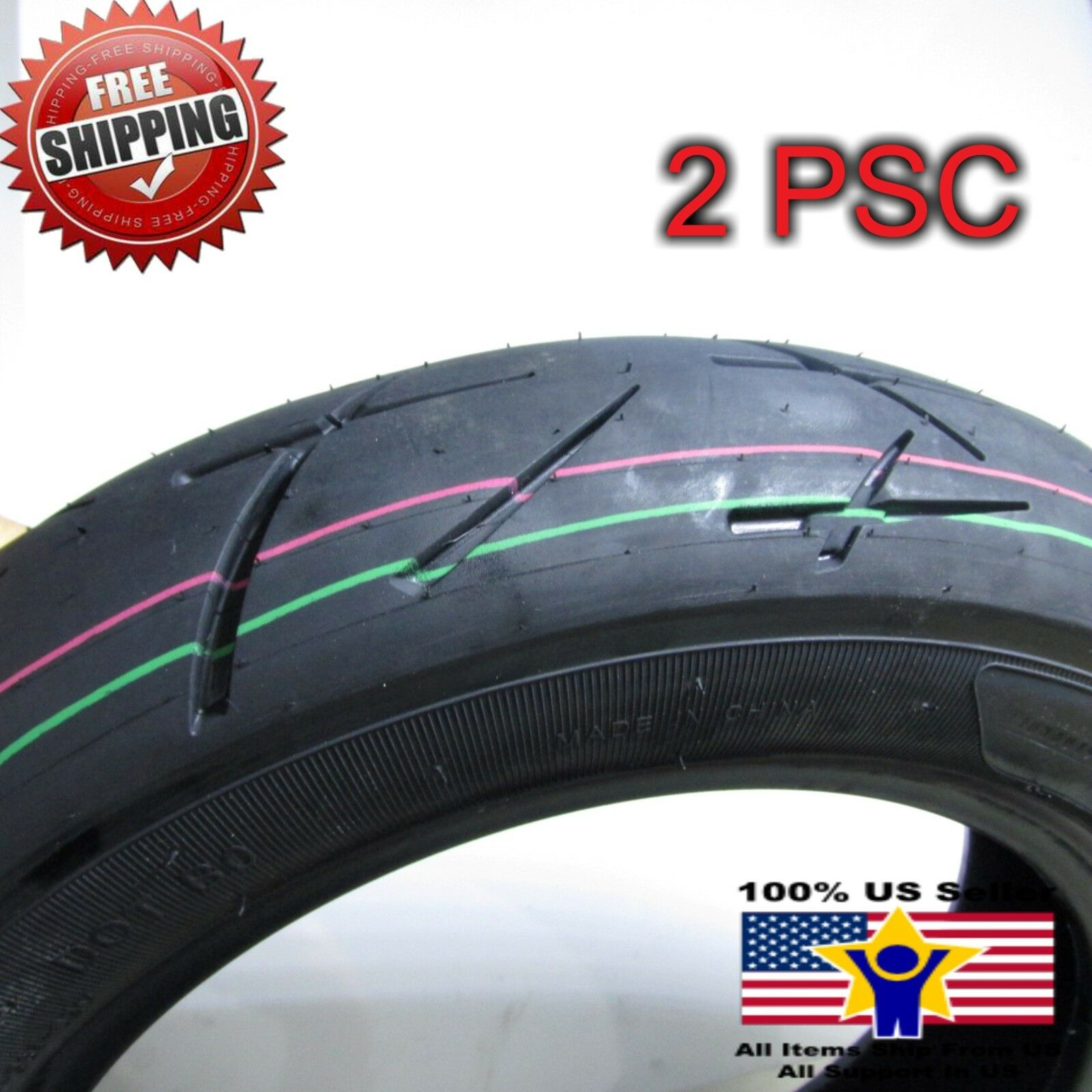 Scooter TaoTao ATM-50-A1 Tubeless Tires 3 00-10 for 50cc