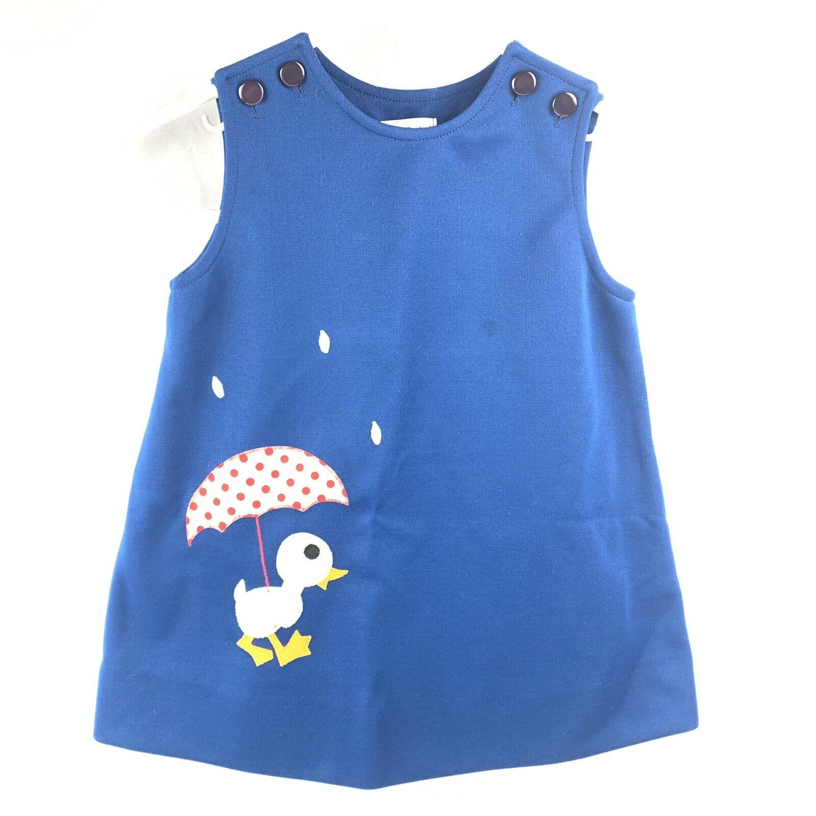 Vtg Jayne Copeland Girls Romper Dress Size 4T? 19… - image 1