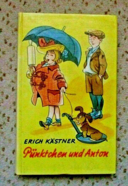 """Erich Kästner """" PÜNKTCHEN UND ANTON"""" Klassiker von 1956"""