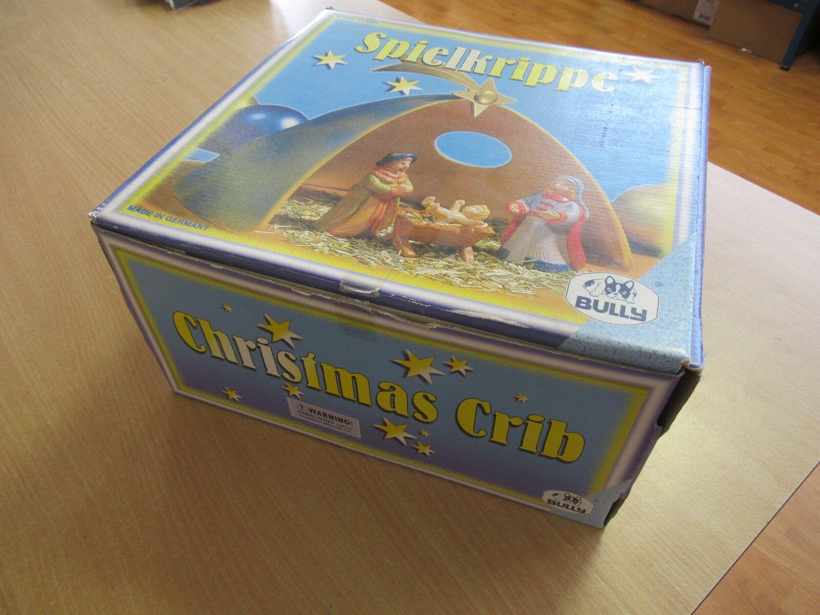 Crèche TRÈS RARE - Spielkrippe Bully 75025 - - - Contient 7 pièces - BullyLand 398d43