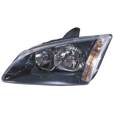 FARO DESTRO FORD FOCUS II da3 anno 08-10 Facelift Nero Curve luce v4s